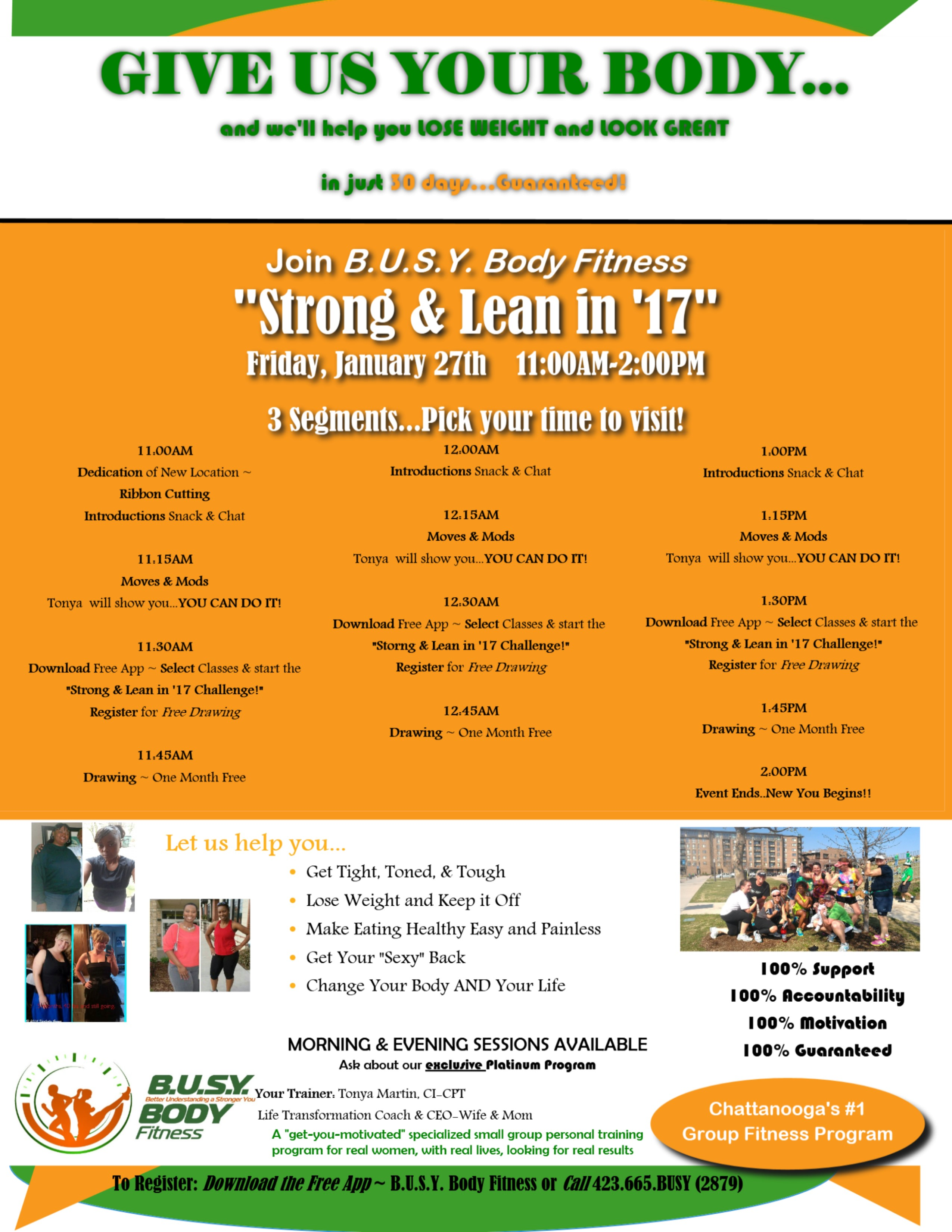 Busy Body Strong and Lean in 17 Flier 003